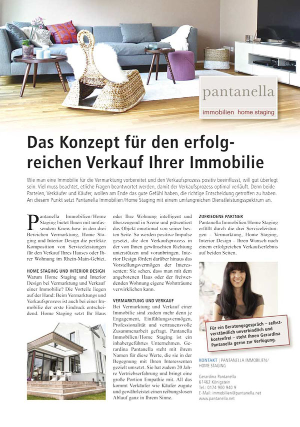 Best Home Staging Verkauf Immobilien Contemporary - Milbank.us ...